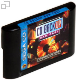 SEGA Backup RAM Cartridge (Mega CD)