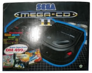 Mega-CD Second Version 3 Games Bundle