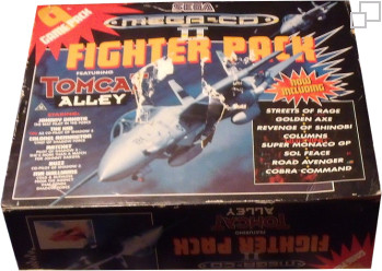 Mega-CD Second Version Fighter Pack Bundle