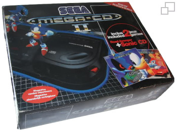 Mega-CD Second Version Road Avenger/Sonic CD Bundle