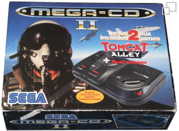 Mega-CD Second Version Tomcat Alley/Road Avenger Bundle
