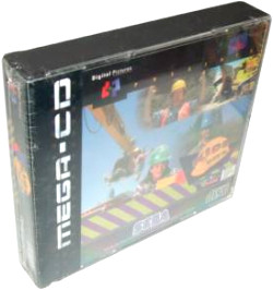 Mega-CD Game with Goodie