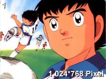 Captain Tsubasa Wallpaper 1.024x768px