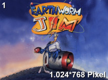 Earthworm Jim Wallpaper 1.024x768px