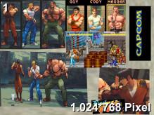 Final Fight CD Wallpaper 1.024x768px