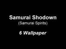 Samurai Shodown Wallpaper
