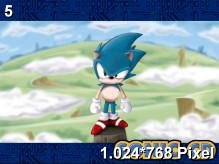 Sonic CD Wallpaper 1.024x768px
