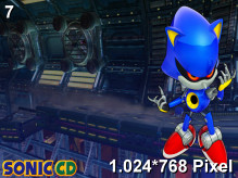 Sonic CD Wallpaper 1.024x768px